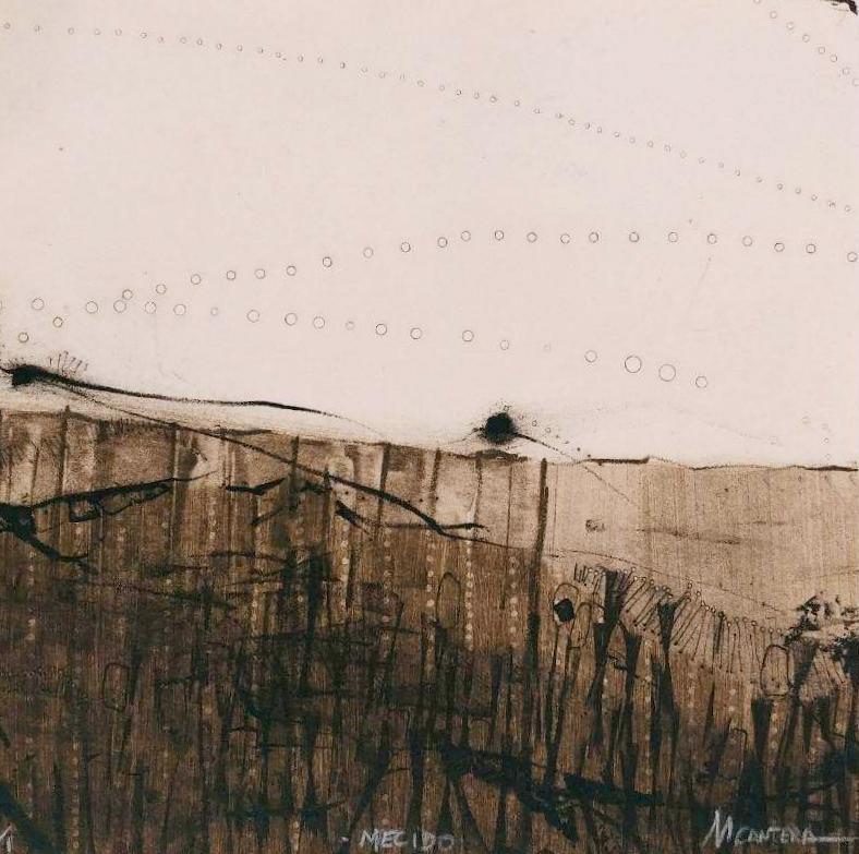 MECIDO, Litografía 20 x 20 cm.