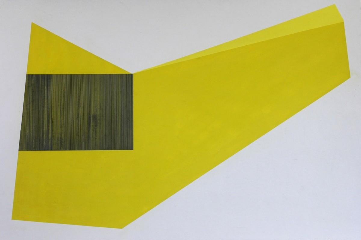Serie Nuevos Concretos. 2013. Acrílico y grafito / papel. 50 x 34 cm.