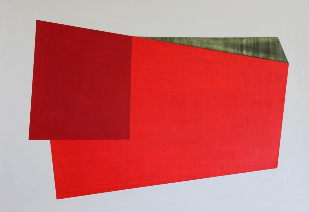 Serie Nuevos Concretos. 2013. Acrílico y grafito / papel. 50 x 34 cm