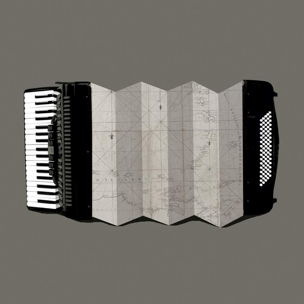 Viajes musicales.30 X 30 Cm.