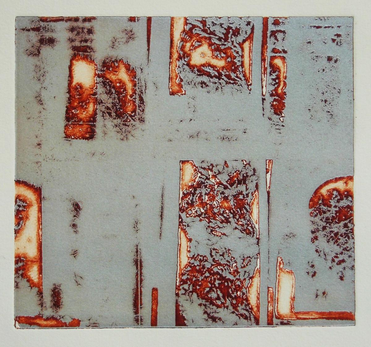 Técnica: fotopolímero Papel Fabriano Rusticus 280 gr. Medidas 20'5x18'5cm