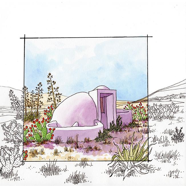 Aljibe cúpula