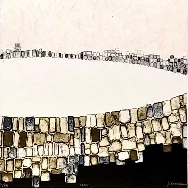 CABO; Litografía, 25 x 25 cm.