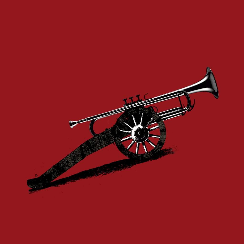 Arma musical. 30 X 30 Cm.
