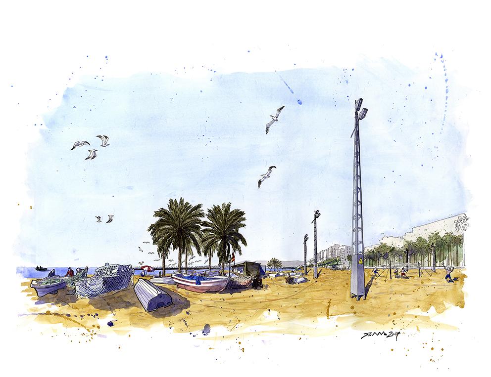 Barcas del Palmeral.