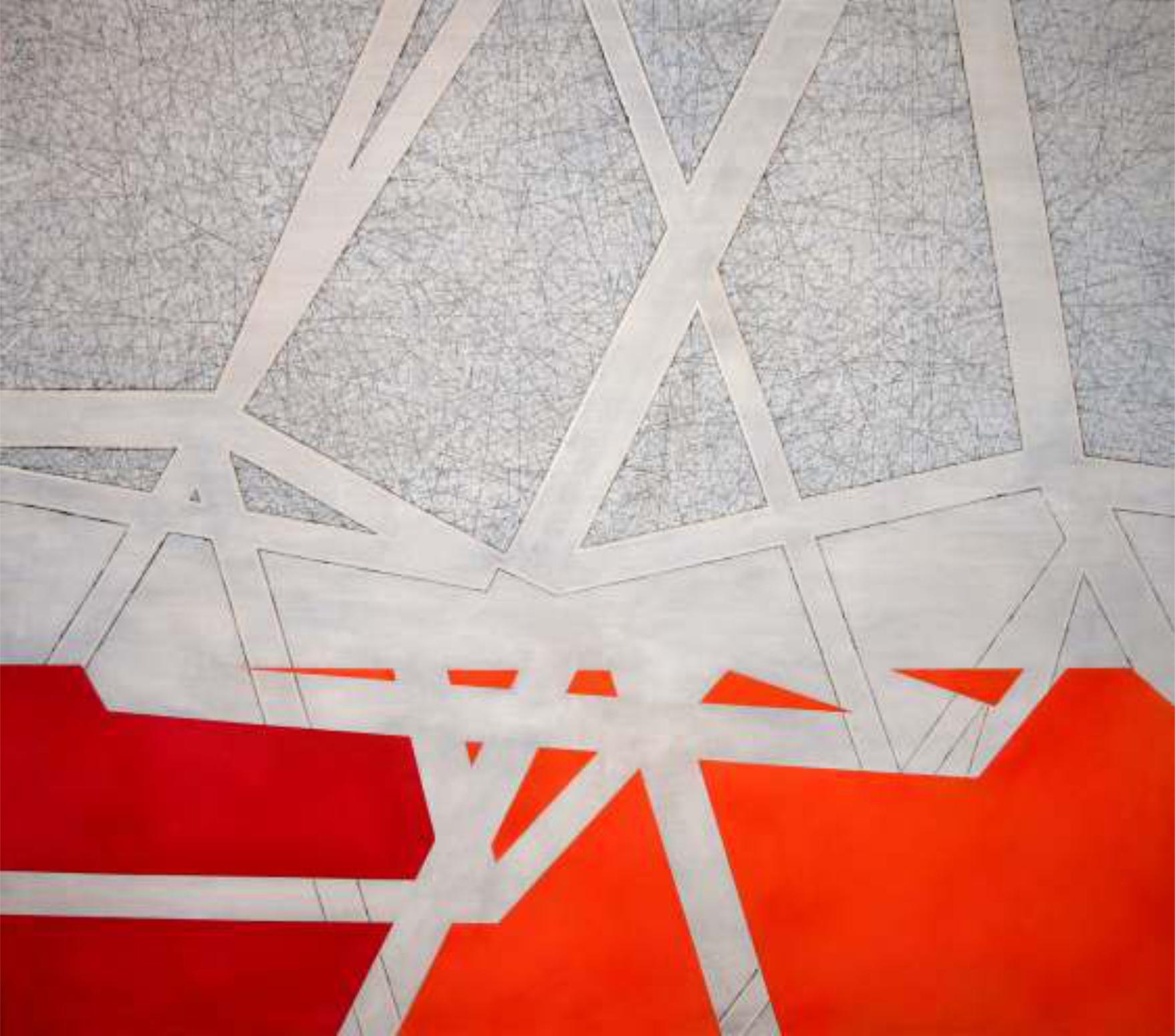 Inconsistencia 170 x 140 cm. Técnica mixta sobre tela.