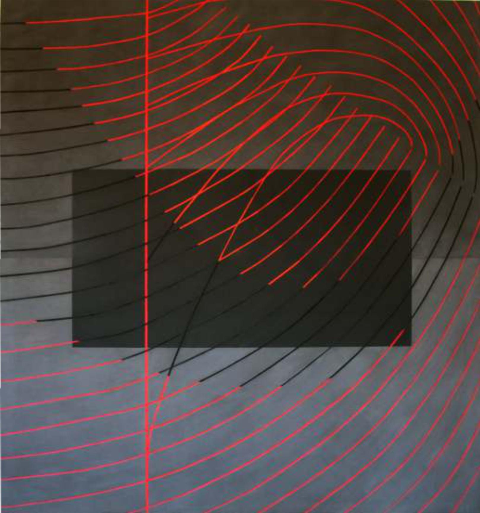 Aladradas 140 x130 cm. Acrílico sobre tela.