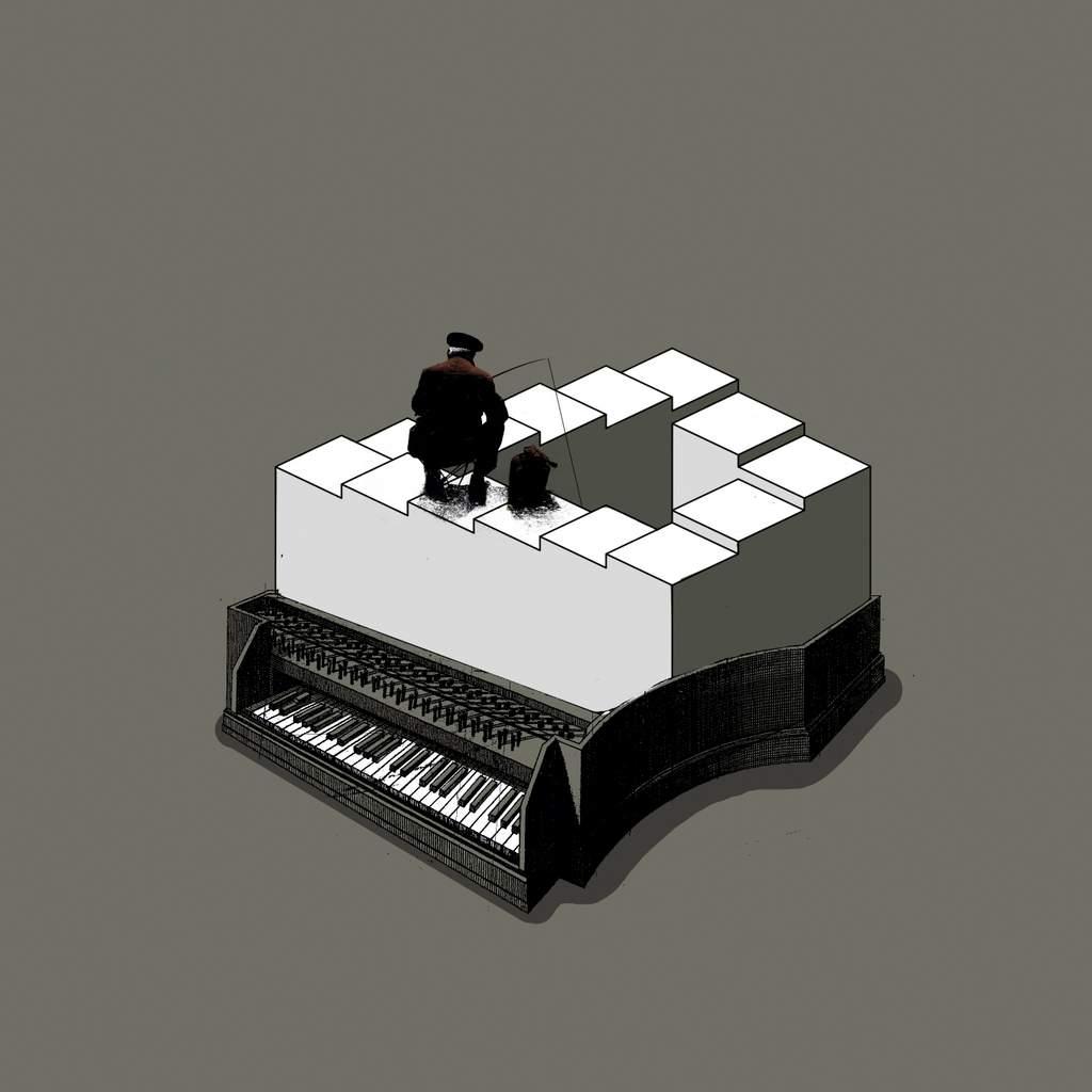 Bucle musical.30 X 30 Cm.