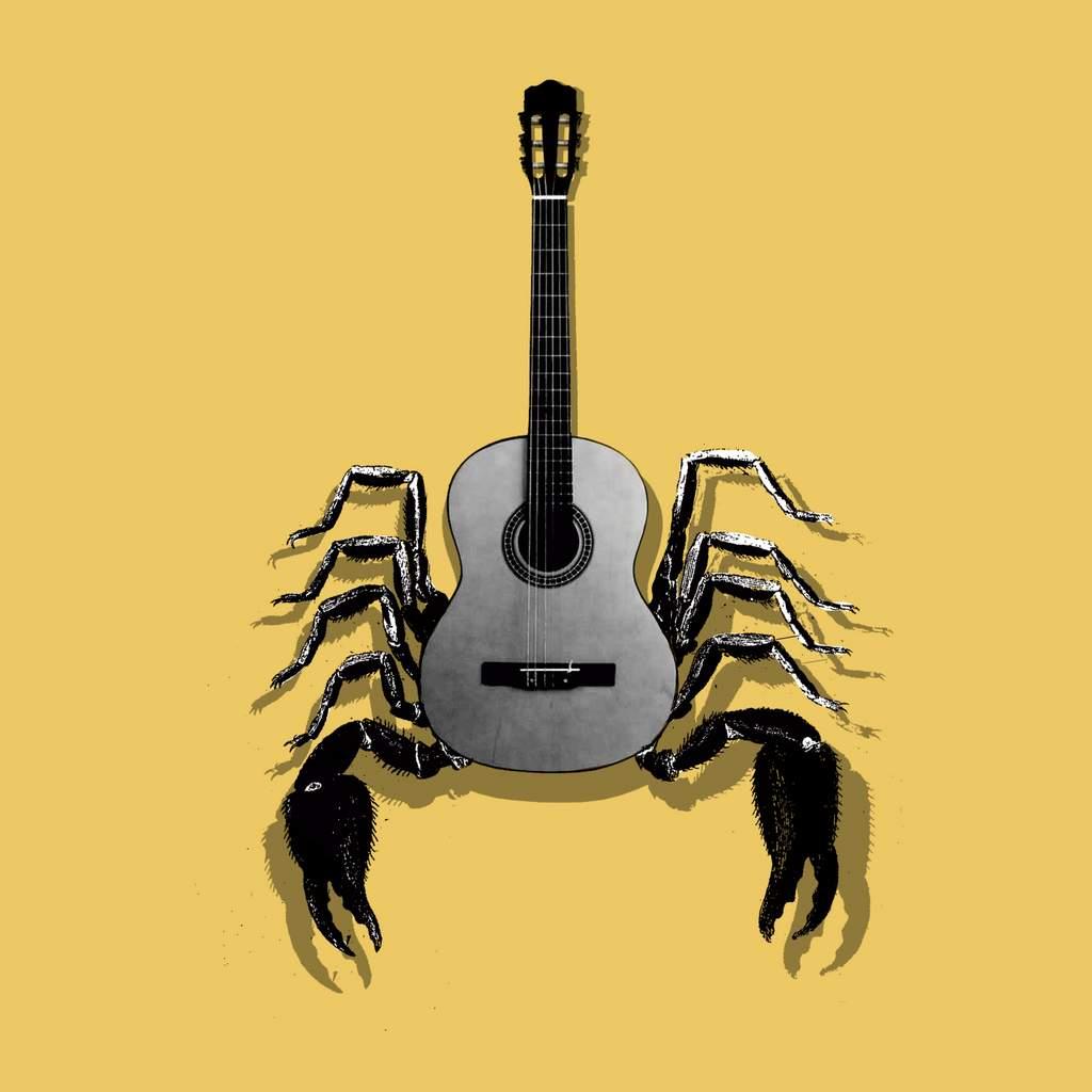 El músico mordaz.30 X 30 Cm.