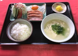 アーサゆし豆腐定食 750yen