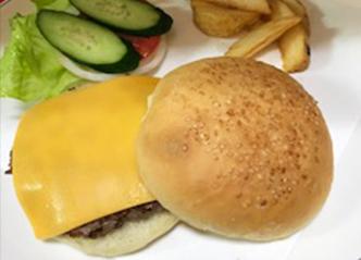 チーズバーガー 450yen