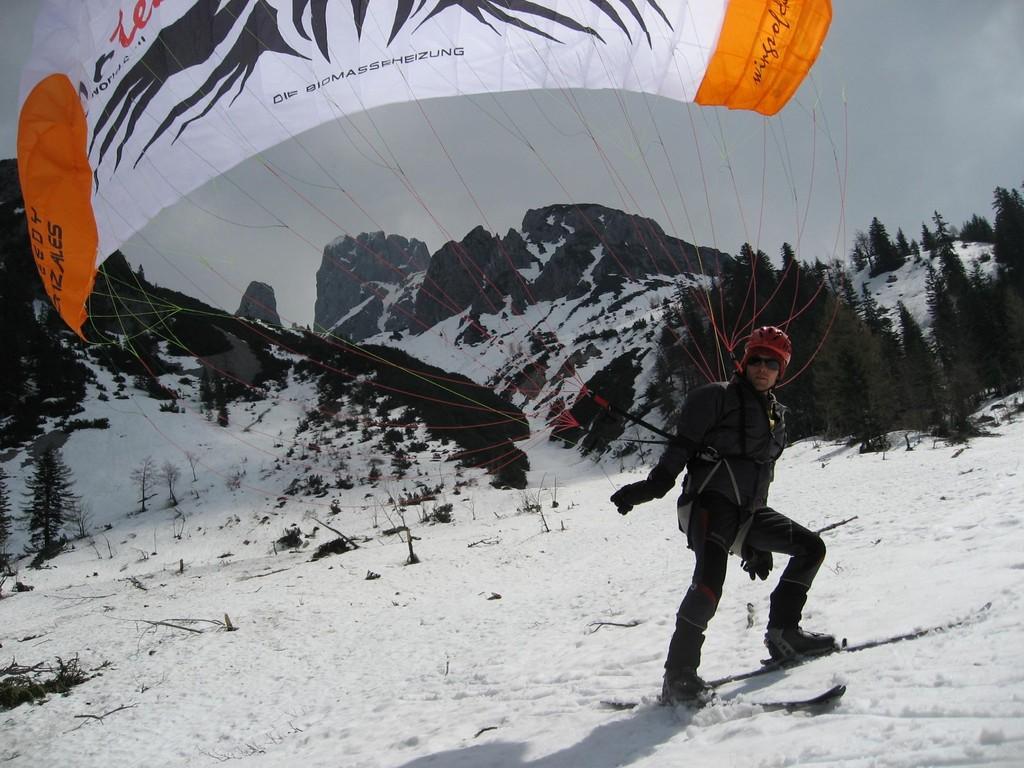 Speedflying Bischofsmütze 2009