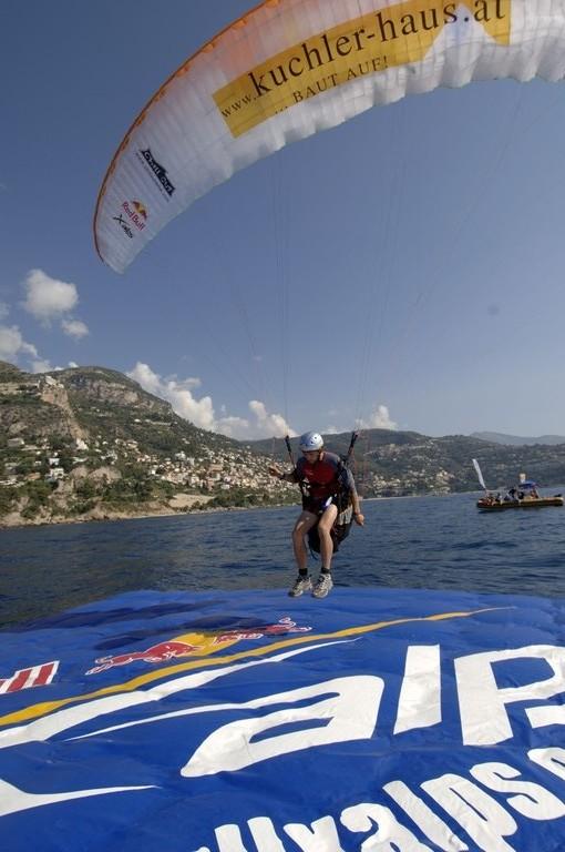 Landung in Monaco