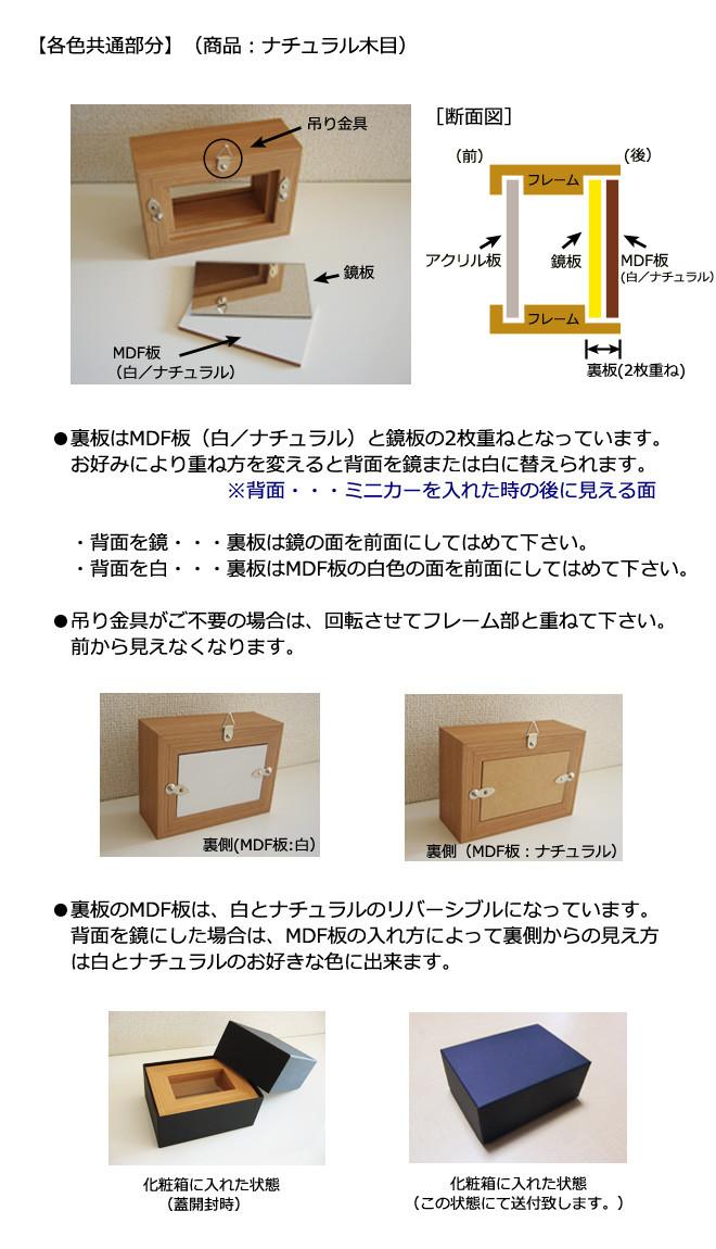 ミニカーフレーム 商品詳細