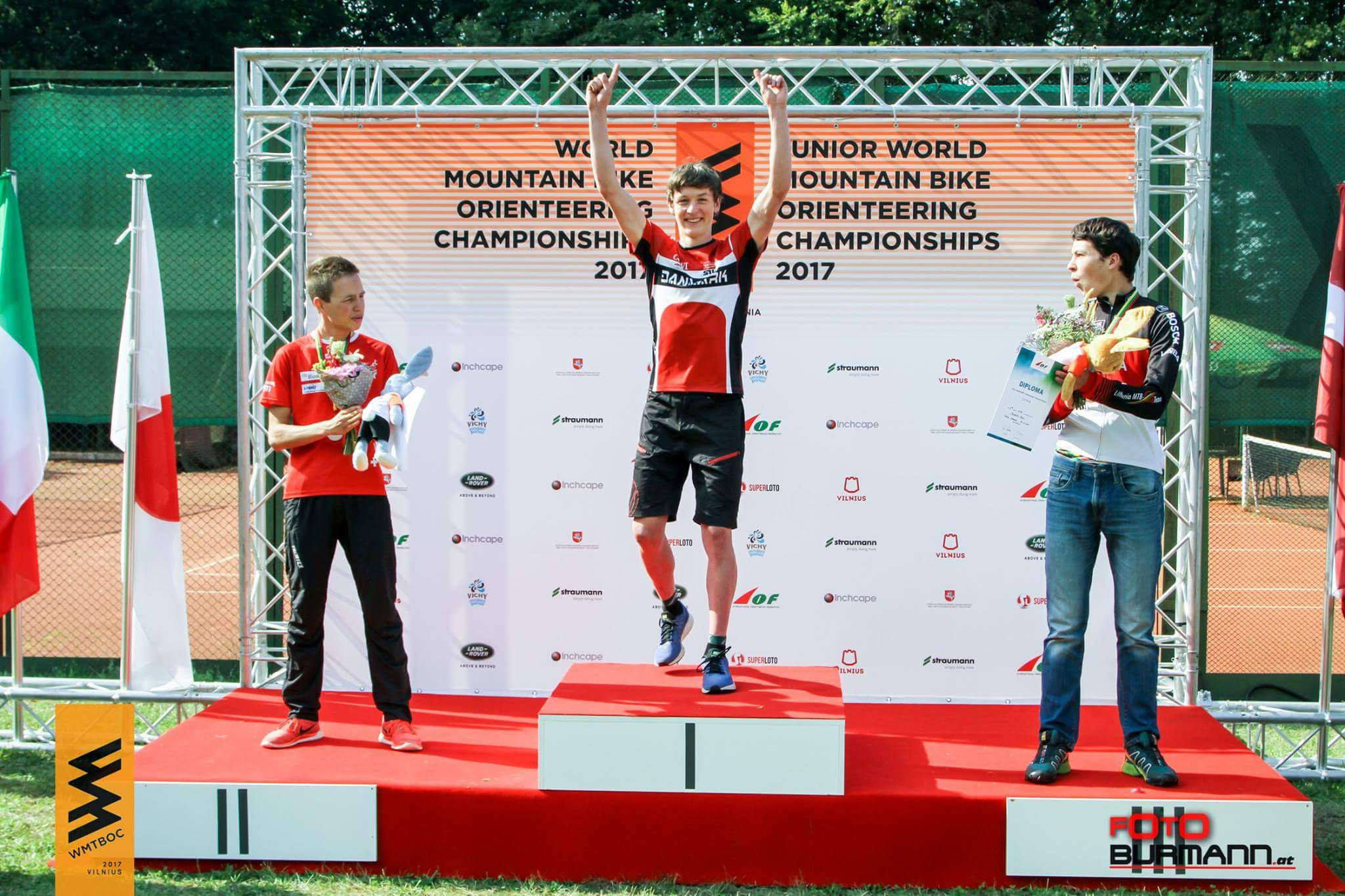 Prize giving ceremony Long (Rainer Burmann)