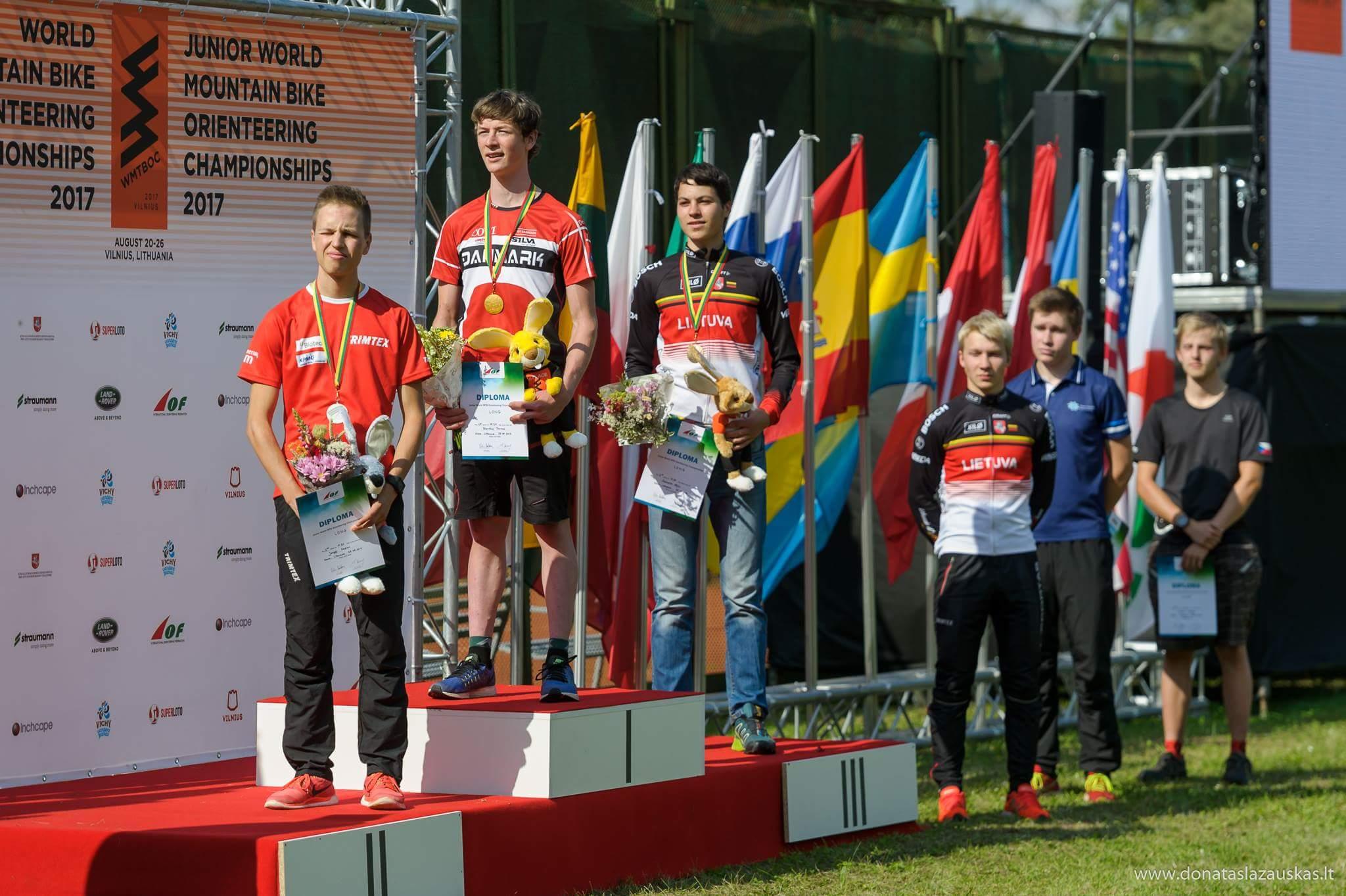 Prize giving ceremony Long (Donatas Lazauskas)