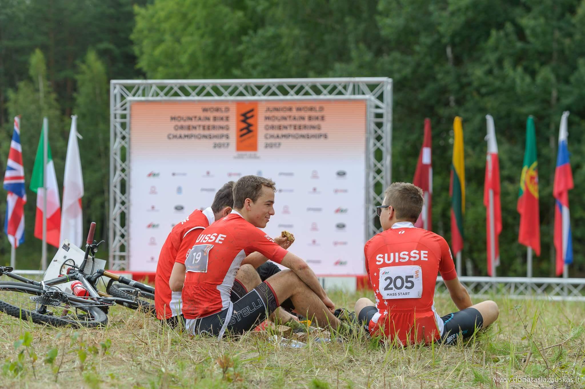 Recovery after Mass start (Donatas Lazauskas)