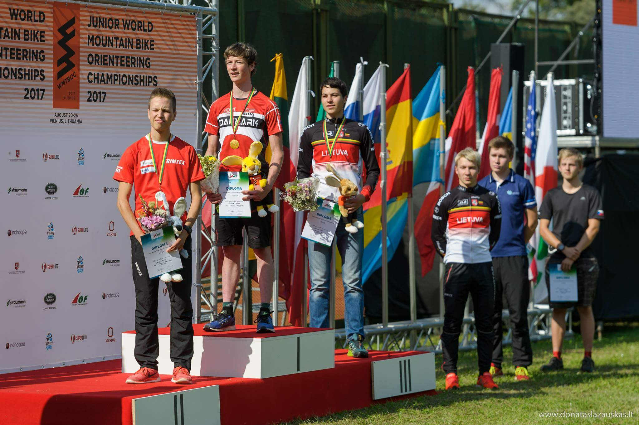 Prize giving ceremony Long (Donatas Lazauskas)