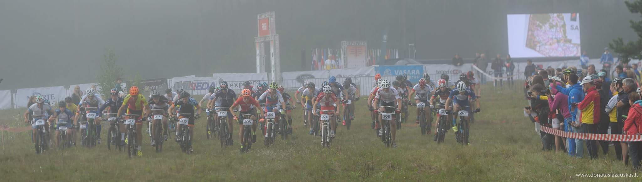 Mass start (Donatas Lazauskas)