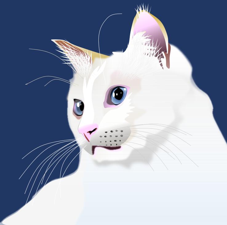 ExcelArt 猫のイラスト