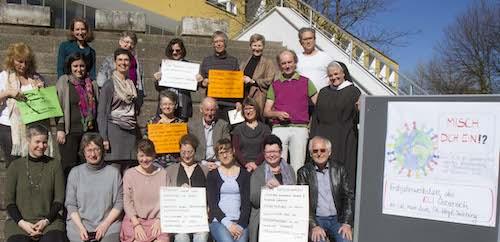 Gruppenbild einer TZI Veranstaltung