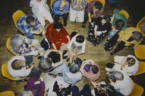 Gruppenbild in einem TZI-Workshop