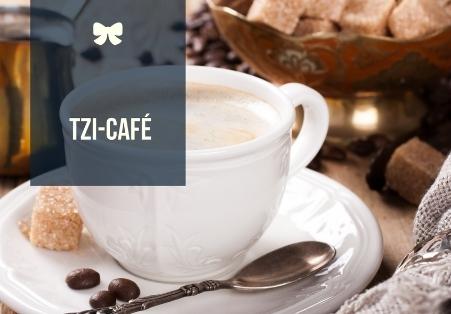 Kaffeetasse mit Schriftzug TZI-Café