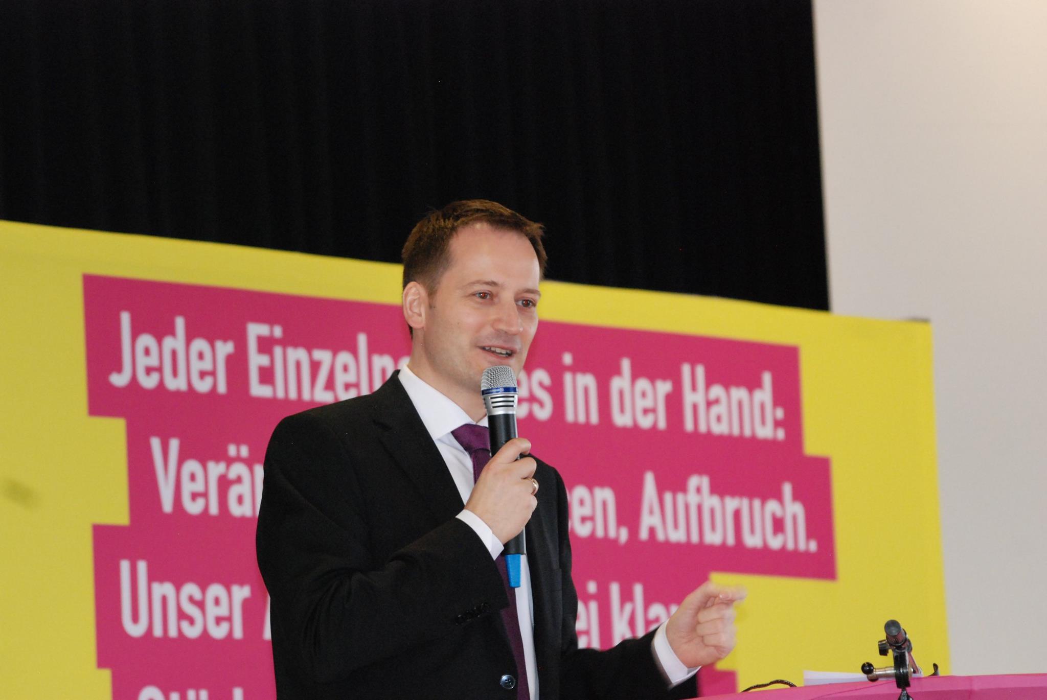 Manuel Höferlin Spitzenkandidat zur Bundestagswahl im Landesverband Rheinland-Pfalz