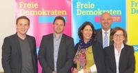v.l.n.r.: Florian Glock, Thorsten Hehl, Daniela Schmitt, Ralph Schleimer, Monika Becker
