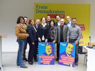 Landtagskandidaten und Kreisvorsitzende der nahen Kreisverbände