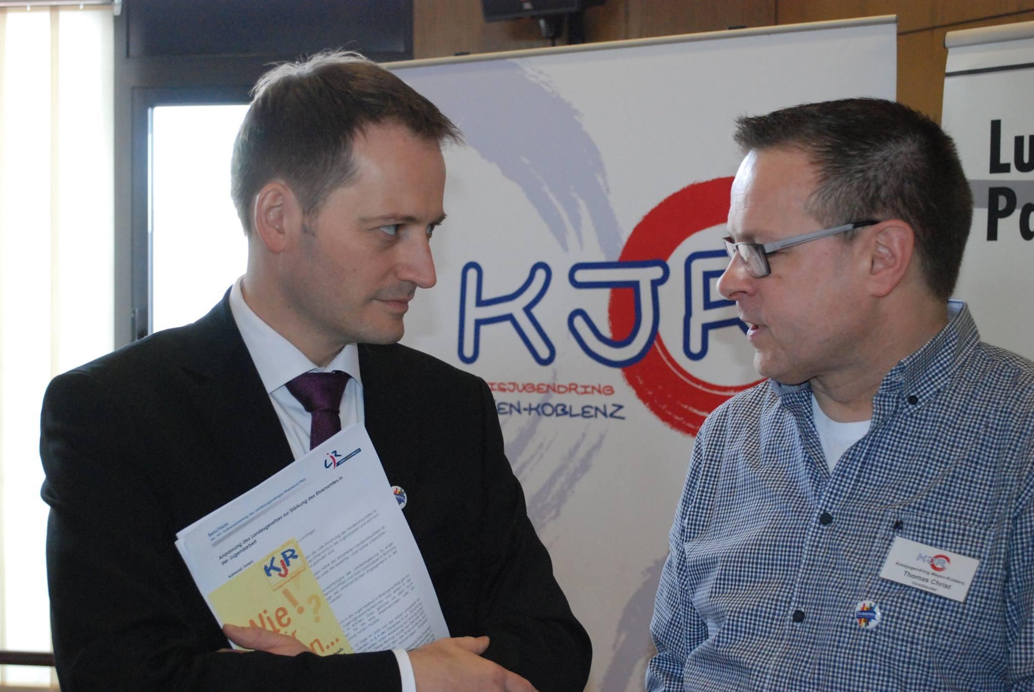 Manuel Höferlin im Gespräch