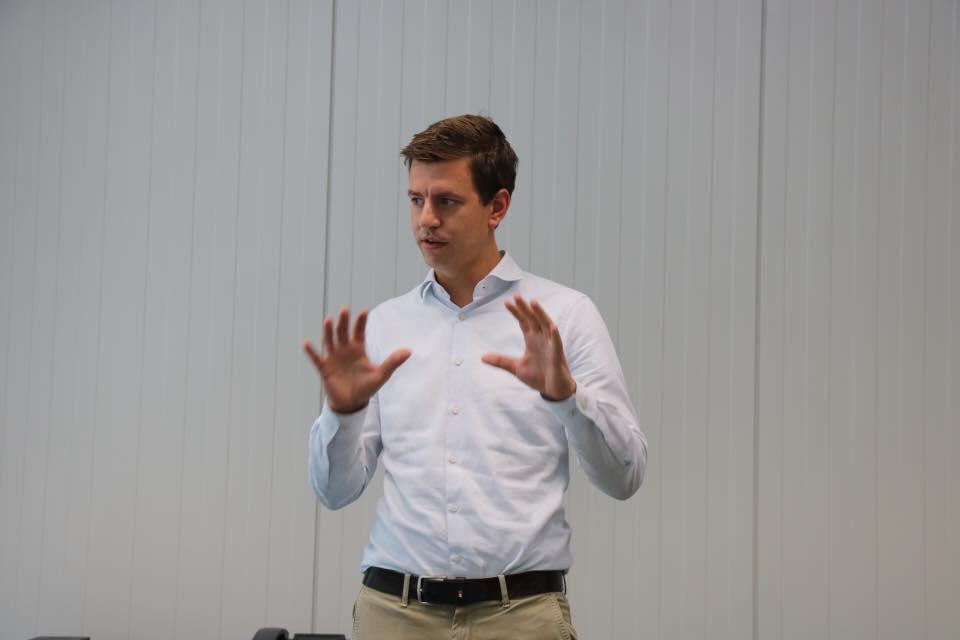 Hannes Tack ist neuer Geschäftsführer der Rhodius Mineralquelle.
