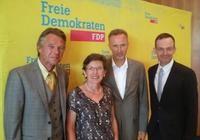 v.l.n.r.: Herbert Pechmann, Monika Becker, Prof. Dr. Martin Kaschny, Dr. Volker Wissing