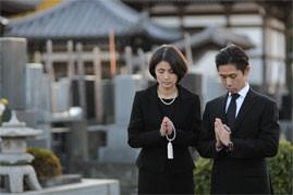 伝統的なお葬式