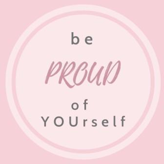 Sei stolz auf dich