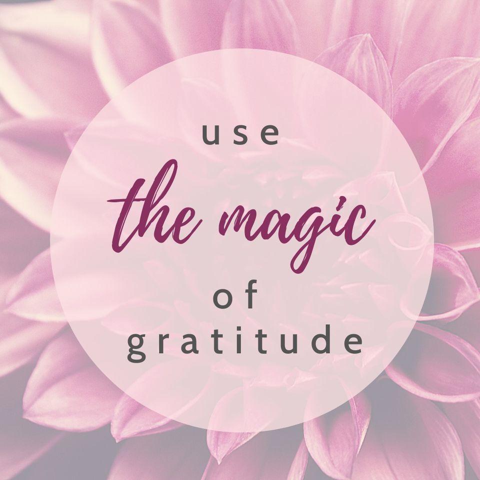 Bewusste Dankbarkeit zieht Wunder in dein Leben