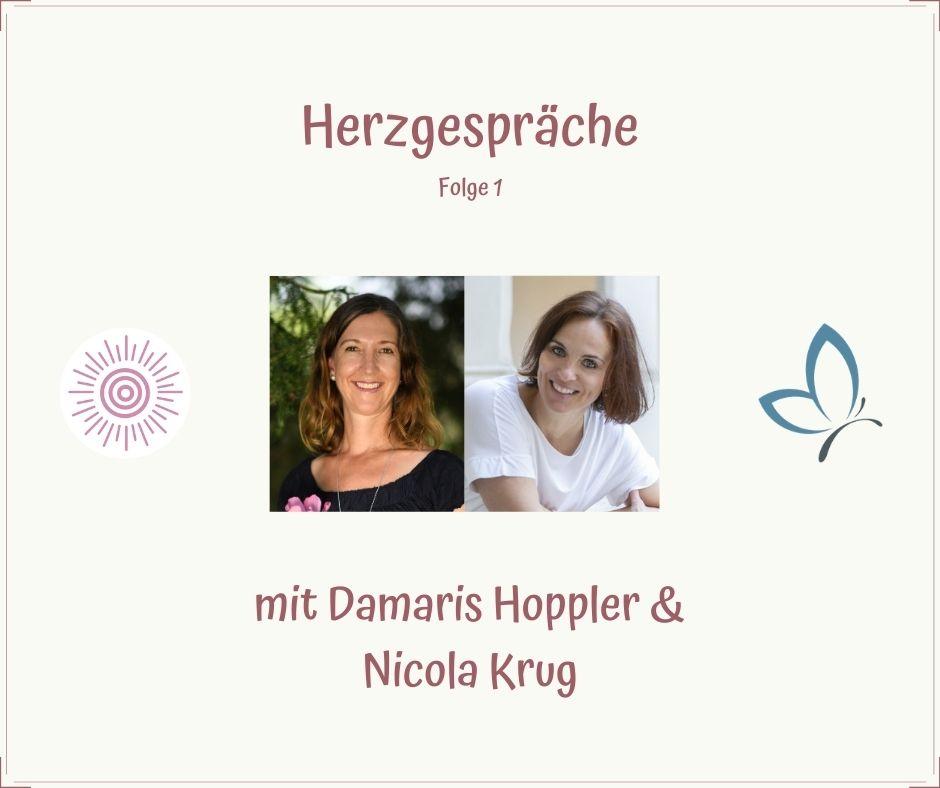 HERZgespräch zum Thema Sichtbarkeit mit Nicola Krug