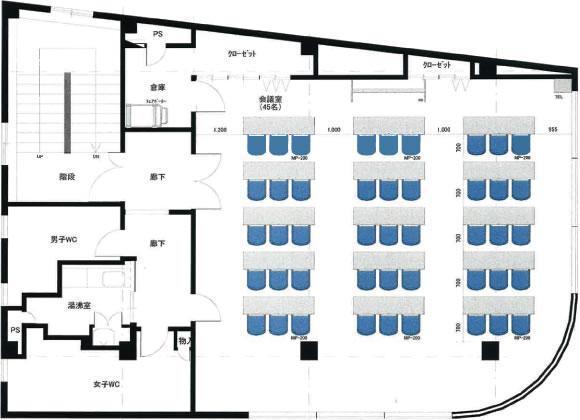 名古屋人気エリア「大須・上前津」の格安レンタルスペース、会議室、ホールです