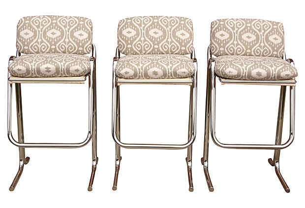 Set 3 Barstools by Jerry Johnson Nueve Grand Rapids