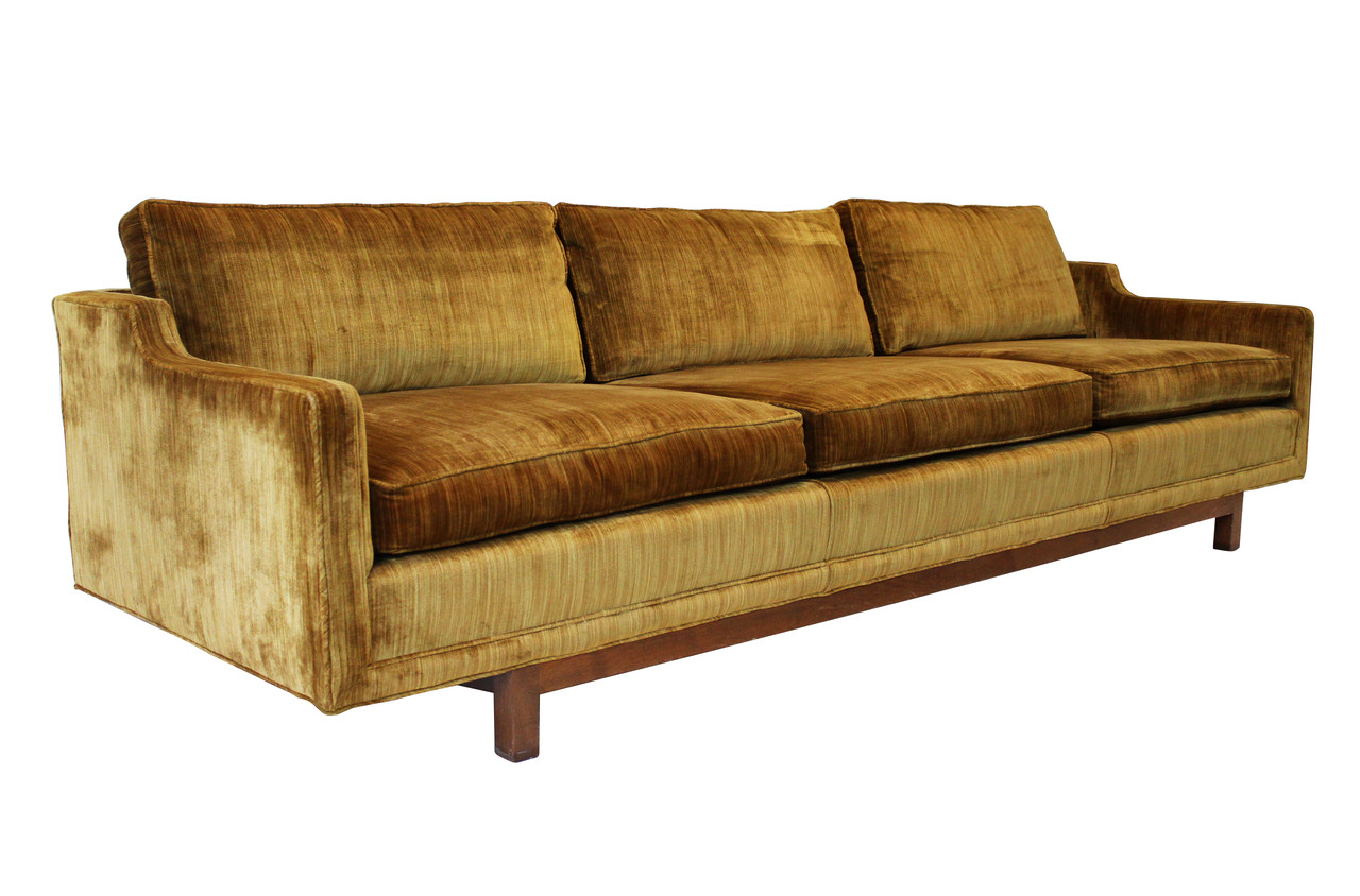 Extra Long Sofa attr to Wormley for Dunbar Nueve Grand