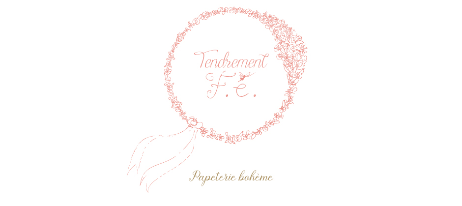 tendrement fé illustration papeterie bohème écoresponsable carte affiche poétique aquarelle bohème
