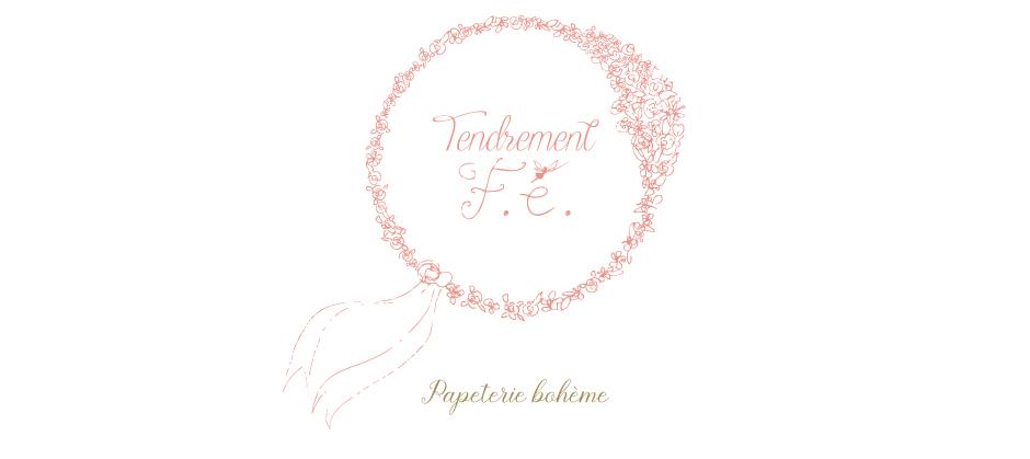 tendrement fé illustration papeterie bohème écoresponsable carte affiche poétique aquarelle bohème