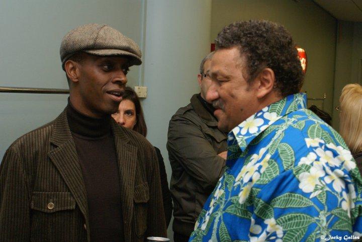 Georges Seba et Claudy Siar