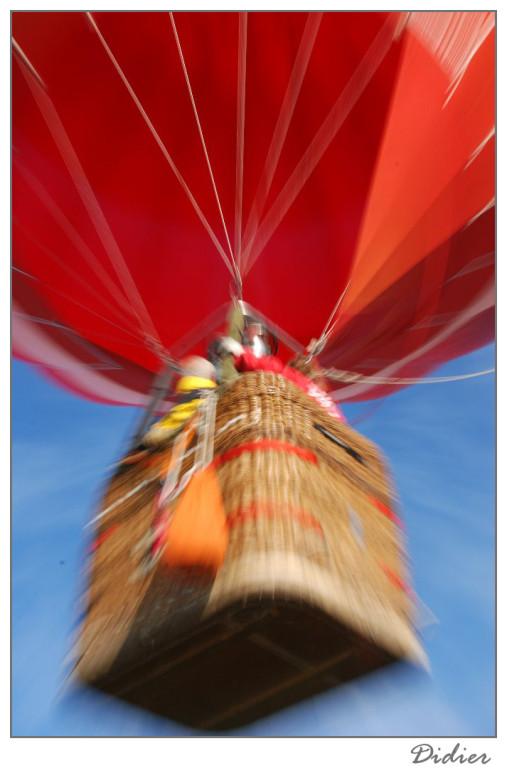 Ballon dirigeable : l'envol