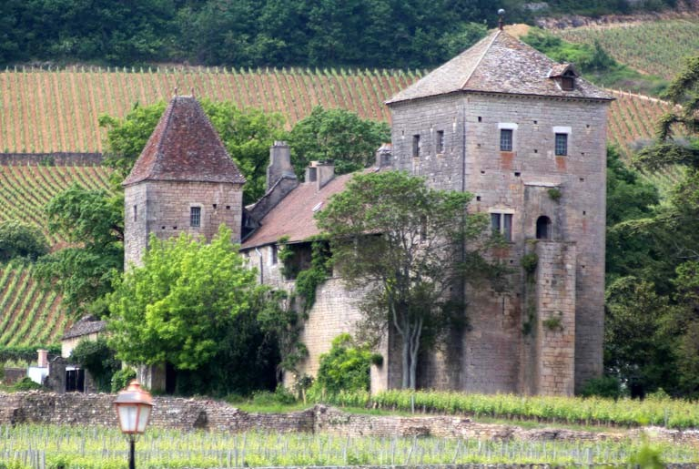 Pascale : Route des Grands crus, Gevrey-Chambertin, l'abbaye