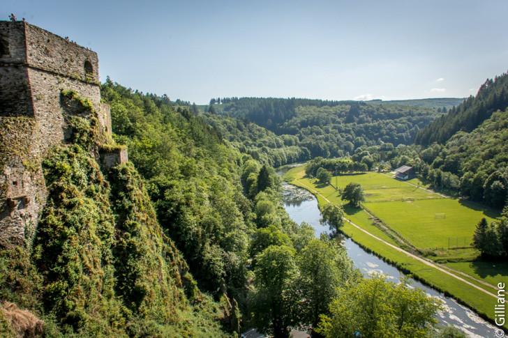 """La """"semois vue du château"""
