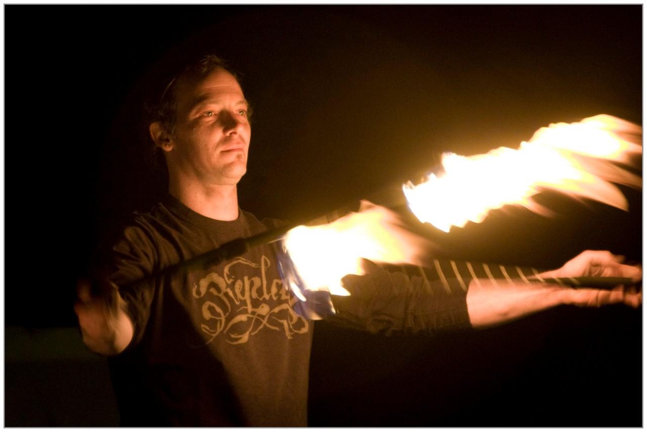 Jongleur de feu - Didier