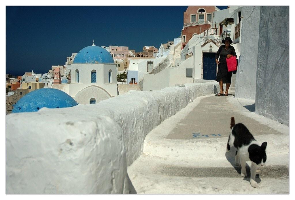 Suivez le guide - Santorin