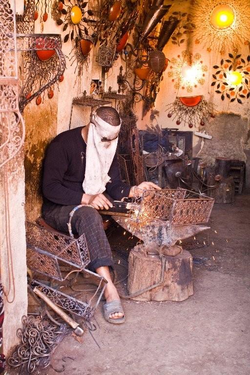 Soudeur au Maroc