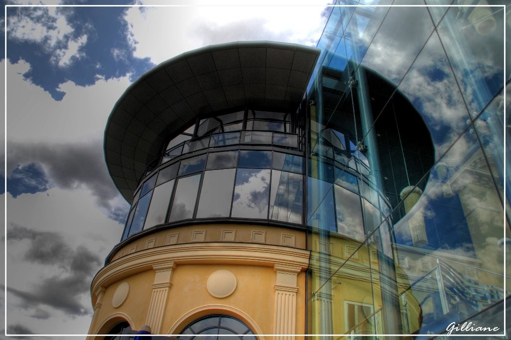 Reflets au casino d'Enghein